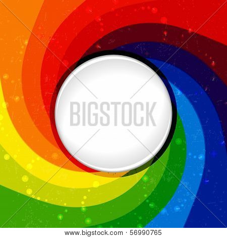 Abstract color background with whirlpool