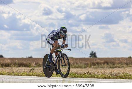 The Cyclist Alejandro Valverde