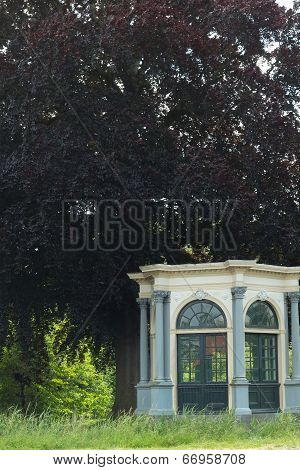 Chappel Next To A Tree