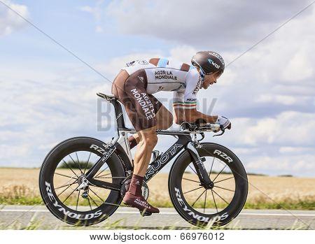 The Cyclist Nicolas Roche