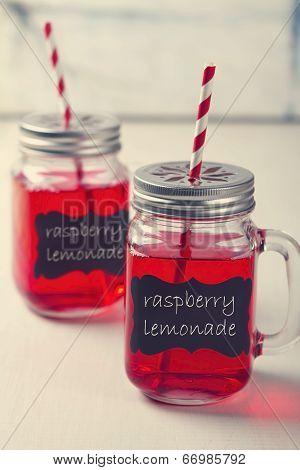 Mason Jar Lemonade Party Drinks