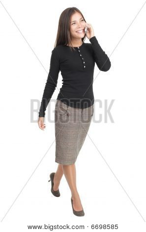 Businesswoman Isolated