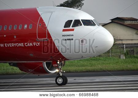 Air Asia airplane