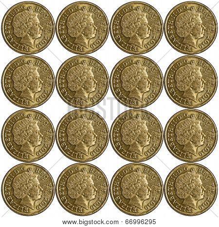 Pound Coin Pattern