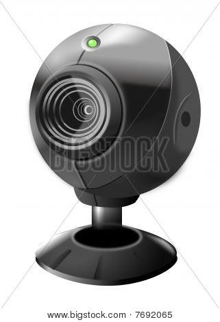 Web camera illustration