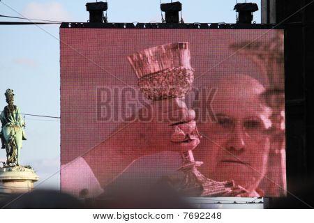 PAPA BENTO XVI VISITA PORTUGAL DE 11 A 14 DE MAIO