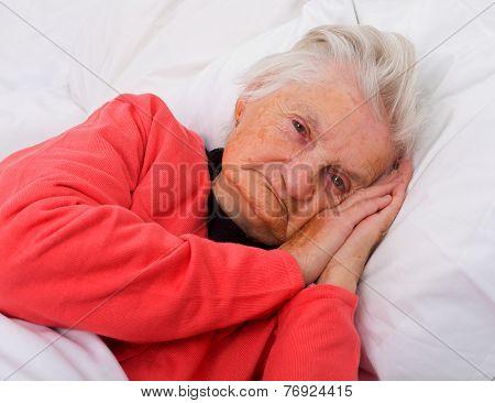 Sleeping Elderly