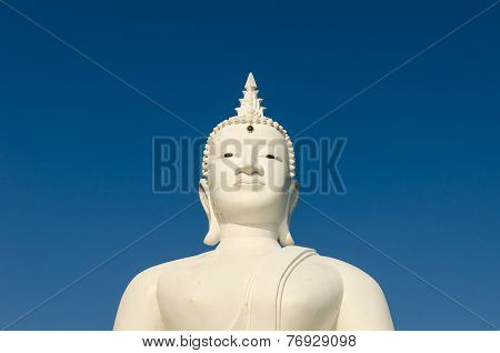Budha On Blue Sky