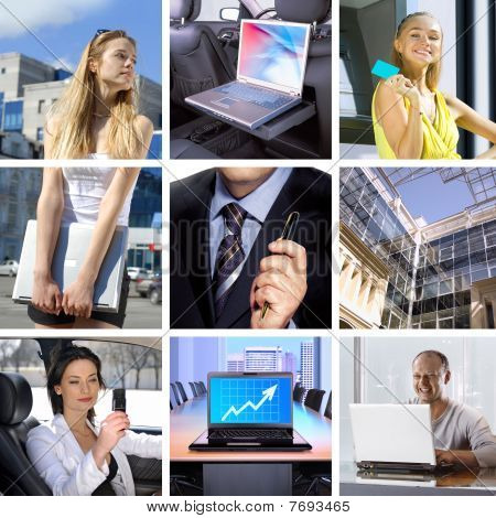 Business-collage