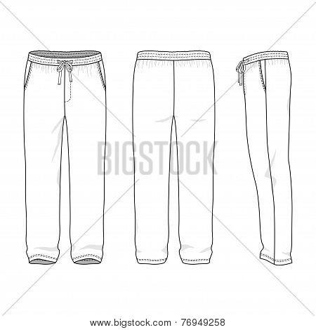 Blank Men's Sweatpants