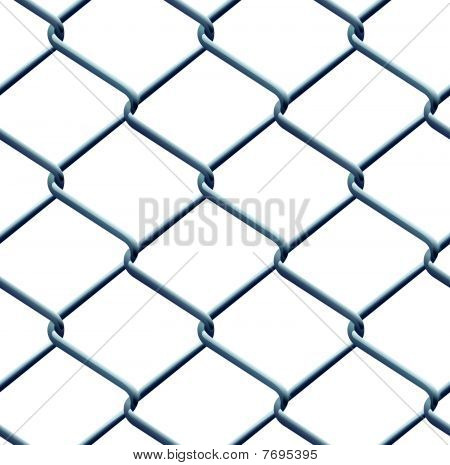 Seamless barbed wire pattern