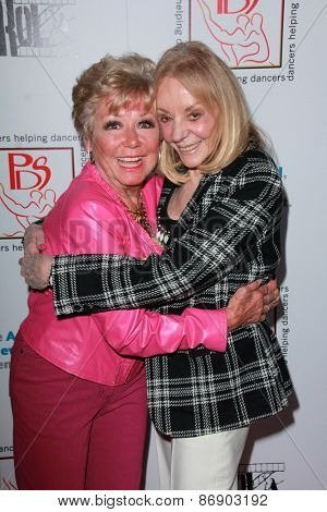 LOS ANGELES - MAR 29:  Mitzi Gaynor, Joni Berry at the 28th Annual Gypsy Awards Luncheon at the Beverly Hilton Hotel on March 29, 2015 in Beverly Hills, CA