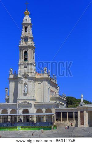 Sanctuary of Fatima Santuario de Fatima, Basilica of Our Lady of Fatima, Fatima, Portugal