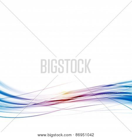Abstract Modern Speed Hi-tech Wave Background