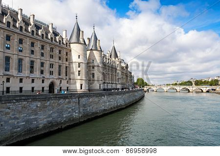 Conciergerie Is A Former Royal Palace And Prison In Paris