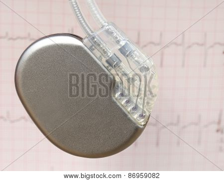 Electrocardiograph With Pacemaker