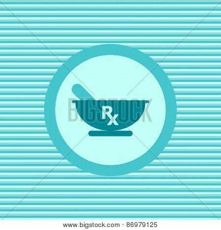 Rx Color Flat Icon