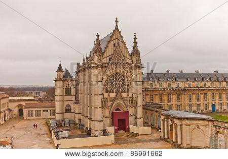 Holy Chapel (1559) Of Vincennes Castle In Paris, France