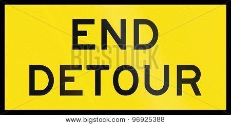 End Detour In Australia