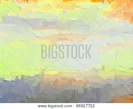 Bright Colored Background - Digital Painting
