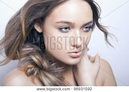beauty girl portrait