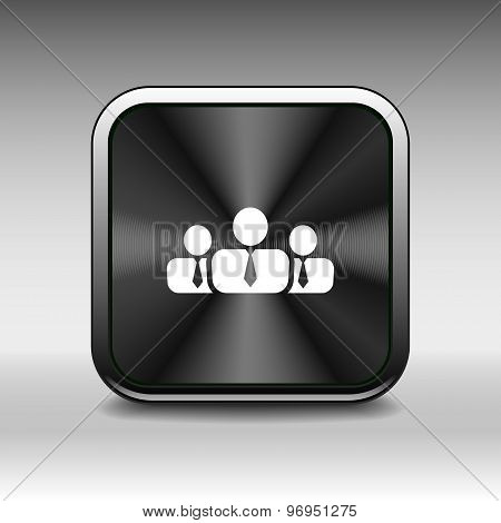 people icon business communication relationships group business poster