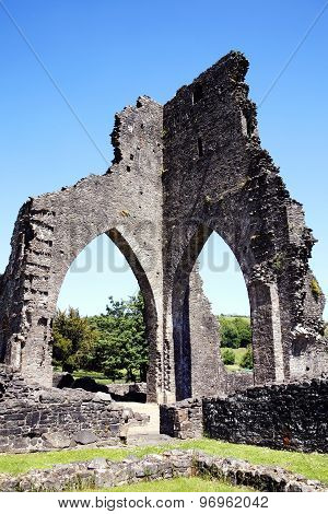 TaTalley Abbey, Carmarthenshire, Wales