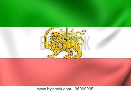 Flag Of Iran (1910-1925)
