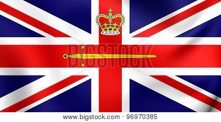 Flag Of British Lord Lieutenant