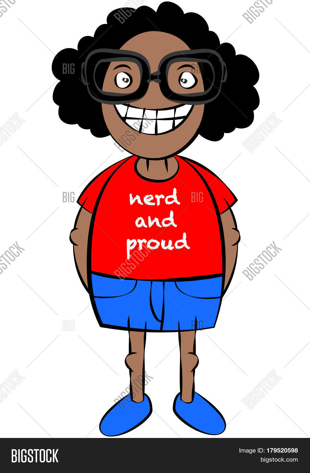 cute nerd black girl vector photo free trial bigstock rh bigstockphoto com nerd cartoon characters girl nerd cartoon characters with glasses