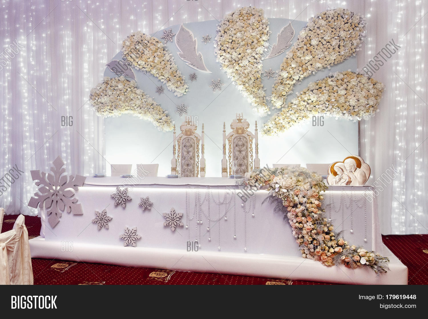 Luxury Wedding Decor Image Photo Free Trial Bigstock