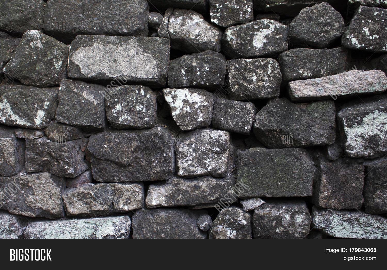 Gray Stone Wall : Imagen y foto grey stone wall prueba gratis bigstock