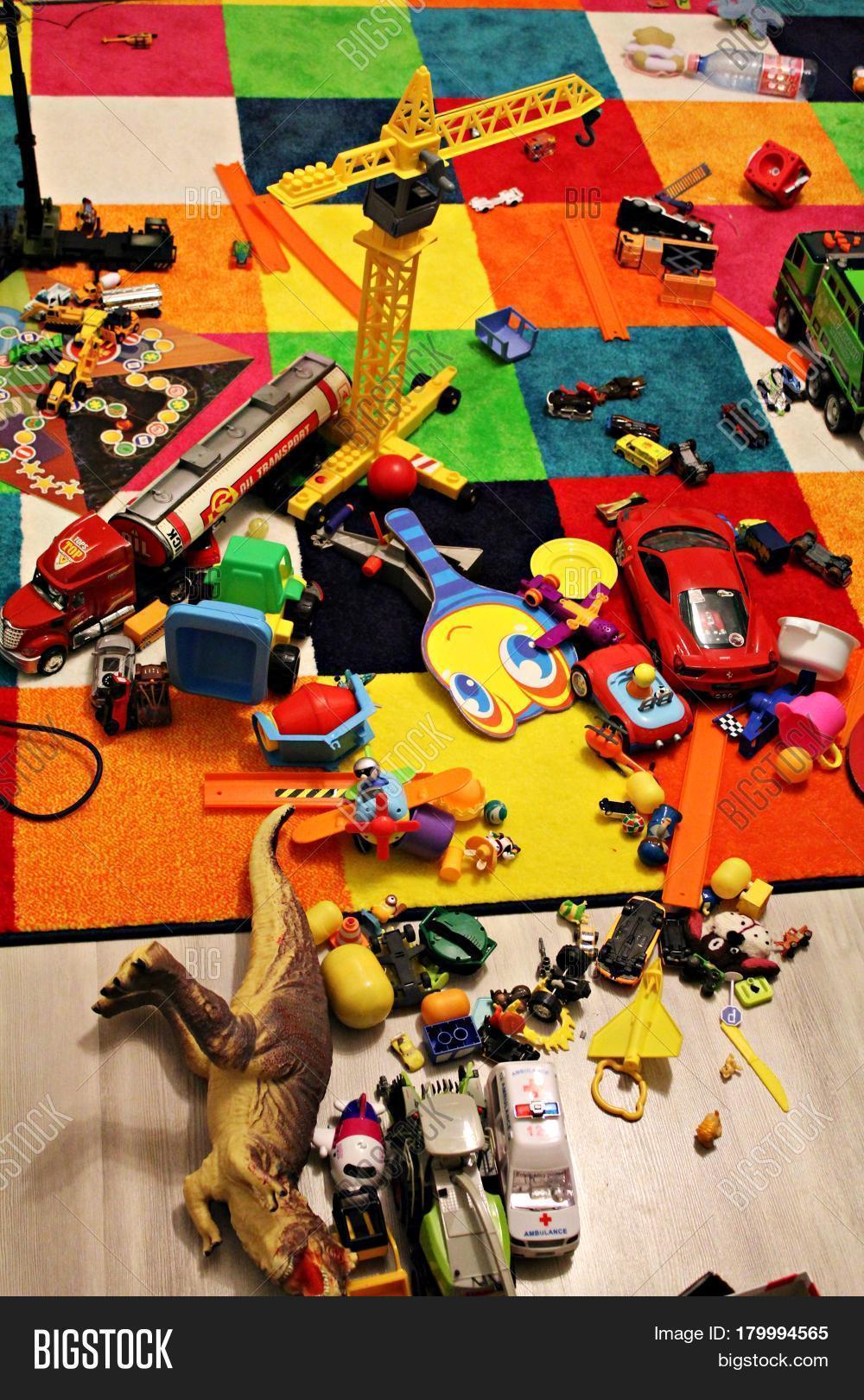 Messy Kids Room - Toys Image & Photo (Free Trial) | Bigstock