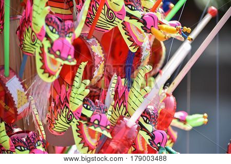 Carnival Face Toy; Chinese Traditional Dancing Lion; Chinese Toy.