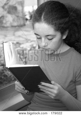 Reading By Window Light