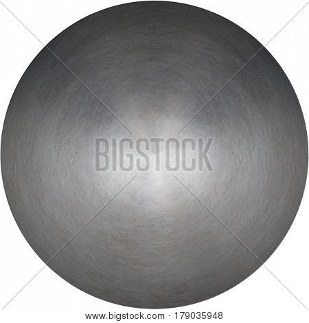 round metal texture or plate isolated
