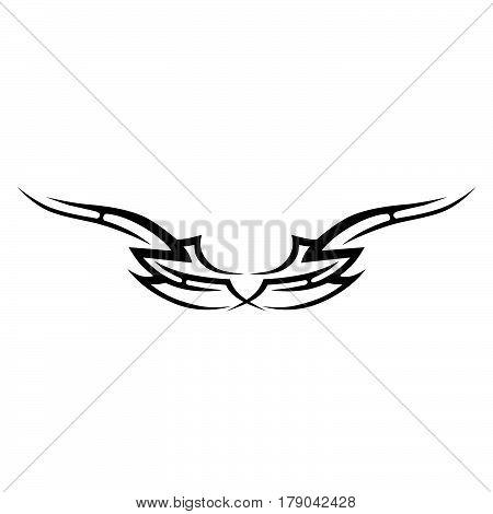 Tattoo tribal vector designs. Tribal tattoos.  Art tribal tattoo. Vector sketch of a tattoo.  Idea for design.