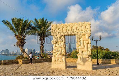 The Gate of Faith in Abrasha Park - Jaffa, Tel Aviv, Israel
