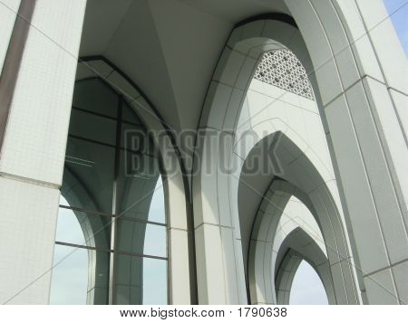 Islamic Arches-Row Of Arches