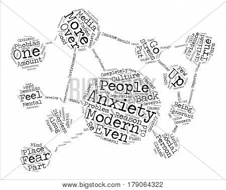 The Faces Of Madness In Modern Society text background word cloud concept