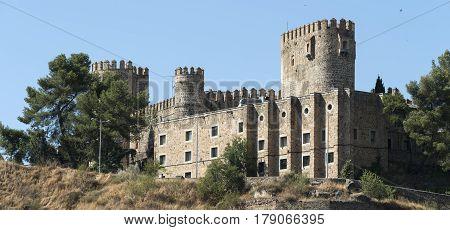 Toledo (Castilla-La Mancha Spain): historic castle near the Alcazar