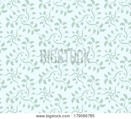 Seamless floral pattern. Modern stylish abstract texture.