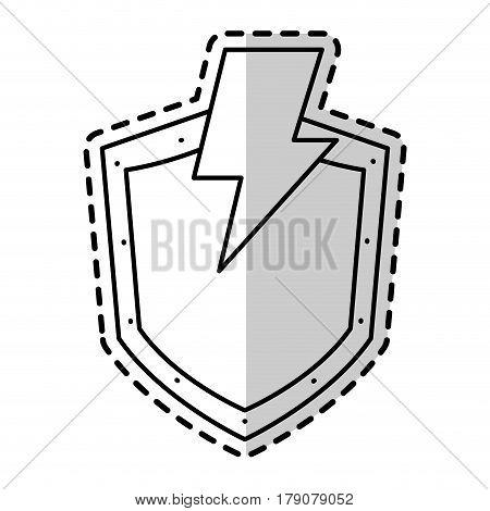 shield antivirus icon image vector illustration design