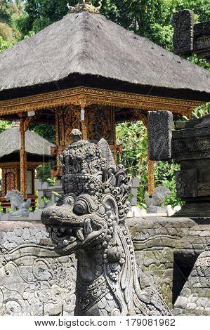 Tirta Empul Hindu Temple At Bali