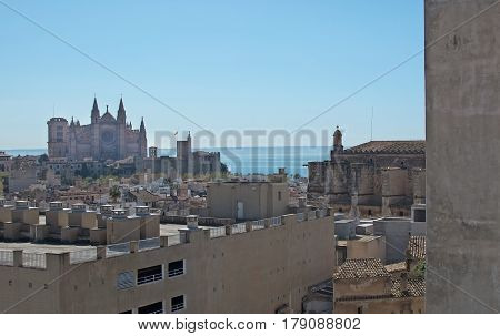Cathedral And Ocean Palma