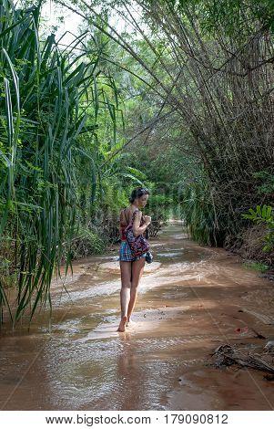 Fairy Stream in the Mui Ne Vietnam