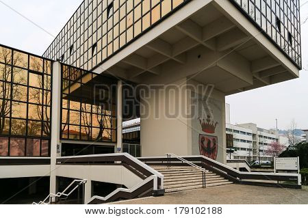 Administrative Building In Trento
