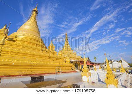 Sandamuni Paya pagoda in Mandalay Burma Myanmar