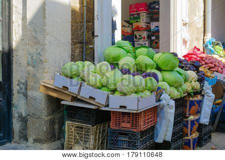 The Market Of Wadi Nisnas, In Haifa