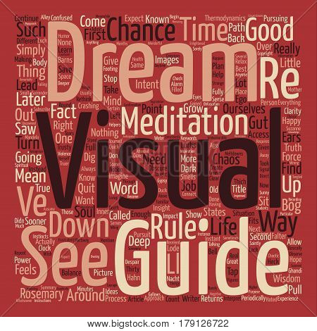 Thirty Minutes that Will Save Your Dream Word Cloud Concept Text Background
